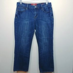 Lucky Brand Sweet N Crop Jeans size 8/29